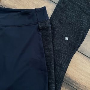 Lululemon Navy Yoga Pants - LIKE NEW!!